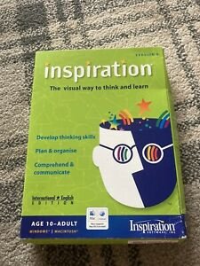 Insipration Software. Visual Way To Think And Learn. Version 8. Windows Xp