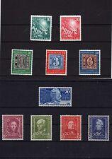 Jahrgang BRD 1949 **  -  KW 388,-- €  ( 13396 )