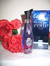 Womans Perfume  2.5 oz Eau De Parfum  FLORAL CODE BY EUROPEAN AMERICAN DESIGN