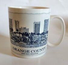 Starbucks Orange County Mug The Big Orange Architecture Series 2008