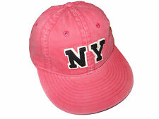 Polo Ralph Lauren Sportsman Red NY Varsity Patch Weathered Chino Hat Cap