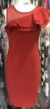 Joseph Ribkoff 193298 Lovely Lipstick Red Stylish Dress Size 12 New