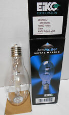 Lot of 2 New  EIKO MH250/U  250W Metal Halide Mogul Base ED28 Lamp Light Bulbs