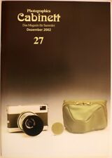 Photographica Cabinett 27 Lipca Rollop Alpa Bolex Kodak Retina Robot 3x4 Werra