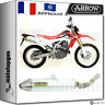 ARROW KIT SILENCIEUX THUNDER OFF-ROAD ALUMINIUM HOM HONDA CRF 250 L 2012 12