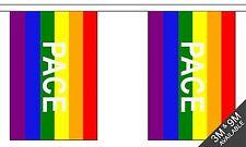 Rainbow Pace Gay Pride -  9 metre long, 30 flag bunting