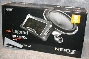 HERTZ MLK 1650.3. 2 way Component Mille Legend Speaker set          NEW