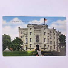 Baton Rouge LA Old Louisiana State Capitol Postcard Unposted