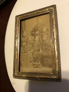 Antique  Gilt Bronze Picture Frame