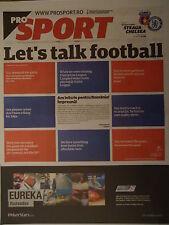 Programm Pro Sport UEFA EL 2012/13 Steaua Bukarest - Chelsea FC
