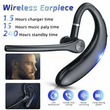 New listing Wireless Earphone Bluetooth Headset Ear-hook Phone Call Handsfree Headphones Mic