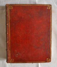 Rare Livre Ancien - Recueil des Titres des Etats de Bourgogne - Tome I - 1784