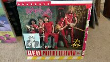 Record Album New York Dolls Red Patent Leather Red Wax Fan Club label Import