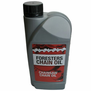 1 Litre Of Chainsaw Oil Ideal For Stihl Husqvarna And All Other Chainsaws