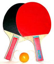 Tischtennis Schläger Set 3 Bälle und 2 Tisch Tennis Schläger Tischtennisschläger