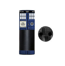 Skin Wrap for AMAZON ECHO Cover Decal Sticker - BLUE PHONE BOX