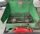 Vintage Coleman 425E Camp Stove 2 Burner 1975 Made  in USA Works Perfect & RARE