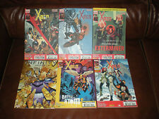 X-MEN - LOT DE 5 TOMES N°4A + 7A à 9A + 11A - 10.2013 A 05.2014 - PANINI COMICS
