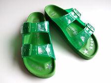 new Limited Heidi Klum BIRKENSTOCK Edition Jelly STAR Green EU41 US10 UK8 Narrow