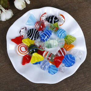 10Pcs Vintage Glass Sweets Wedding Party Candy Christmas Decoration^dm