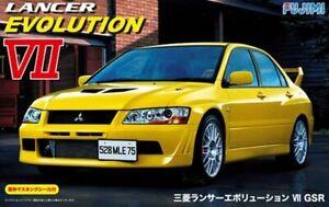 Fujimi 39206 ID-179 1/24 Scale Model Car Kit Mitsubishi Lancer Evolution VII GSR