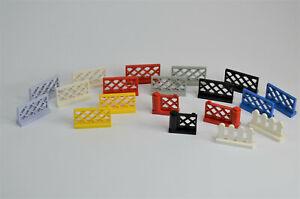 LEGO® System, City Zaun, Gartenzaun, Gitterzaun, Geländer, Tor, Zauntor zur Wahl