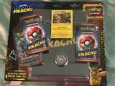 Pokemon DETECTIVE PIKACHU - SPECIAL CASE FILE - 3 Boosters, Binder & Coin - NEW!