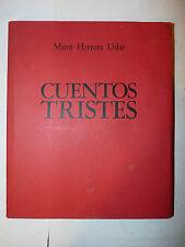 Poesia Arte - Mimì Herrera Uslar: Cuentos Tristes 1981 dedica autografa autrice