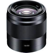 Sony E 50 mm F/1,8 OSS Objetivo - Negro