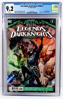 DARK NIGHTS: DEATH METAL LOTDK #1 CGC 9.2 NM- Origin & 1st App of the ROBIN KING