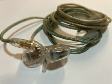 Genuine Shure SE425 Sound Isolating Earphones Clear Used