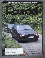 ROUNDEL BMW MAGAZINE 1998 MARCH 523i M5 M6 M3 E92 E90 E46 E30 E36 F13 E24