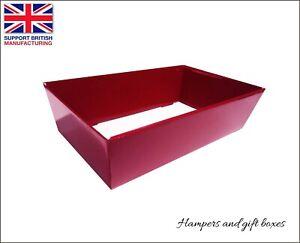 10 x Cardboard Hamper Trays Gift Baskets Sweets Present Baby Shower Valentines