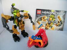 Lego Hero Factory 44023 Rocka Crawler Machine  with Minifigure + Instructions