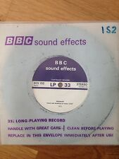 BBC Sound Effects LP 33.5 Long Play Stereo Record 1972 Seawash