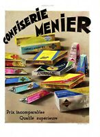 Original French Vintage Ad - MENIER Vic Chocolate Confectionery - 1932