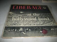 LIBERACE AT THE HOLLYWOOD BOWL LP EX Columbia CL600 1955