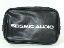 Seismic Audio Pouch Bag Headphones Case Travel Wire Cable Storage Cord Holder