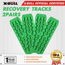 X-BULL Green Recovery Tracks sand tracks 10T Sand/Snow/Mud 2 Pairs 4WD 4X4