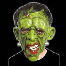 Frankenstein Máscara con Pelo Máscara de Látex Terror Disfraz Monster Halloween