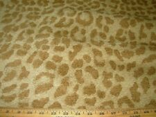 4 Yards~Chenille Leopard Cat Spots Animal~Upholstery Fabric For Less