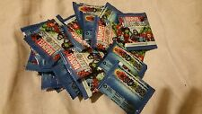 """WOOLWORTHS """"MARVEL HEROS SUPER DISCS"""" UNOPENED, SEALED IN PACKETS BRAND NEW"""