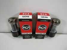 (2) Rca  12EN6 Electron Tubes in Box  ~ Never used