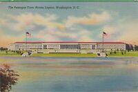 Vintage Antique Washington DC Postcard The Pentagon Posted 1944