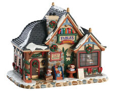 Lemax Christmas Village - FABLES BOOKSTORE  (85366) B/O LED