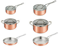 Tefal Jamie Oliver Premium Tri Ply Kupfer Induktion Pfanne Range