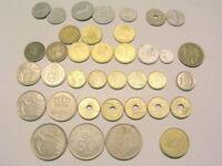 spanische  Münze 5 10 50 Centimos 1 Peseta 2,5 5 10 25 50 100 Ptas Pesetas 40-99