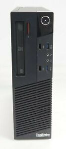 Lenovo ThinkCentre M93p SFF Intel i7-4770 3.4GHz 8GB DDR3 320GB HDD No OS