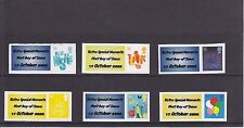 GB 2006 - Definitive Sized Smilers Stamp Set (with personalised labels)