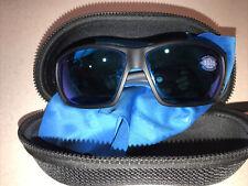 """580G COSTA DEL MAR  Black/Blue mirror """"TUNA ALLEY"""" POLARIZED sunglasses"""